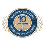 American Insittute of Criminal Law Attorneys