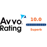 Avvo Rating 10.0 Logo