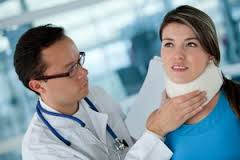 neck injury