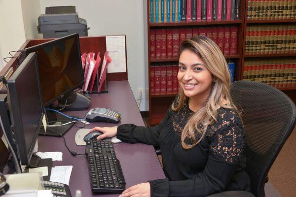 Secretary At Desk